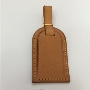 Louis Vuitton Luggage Large Name tag only